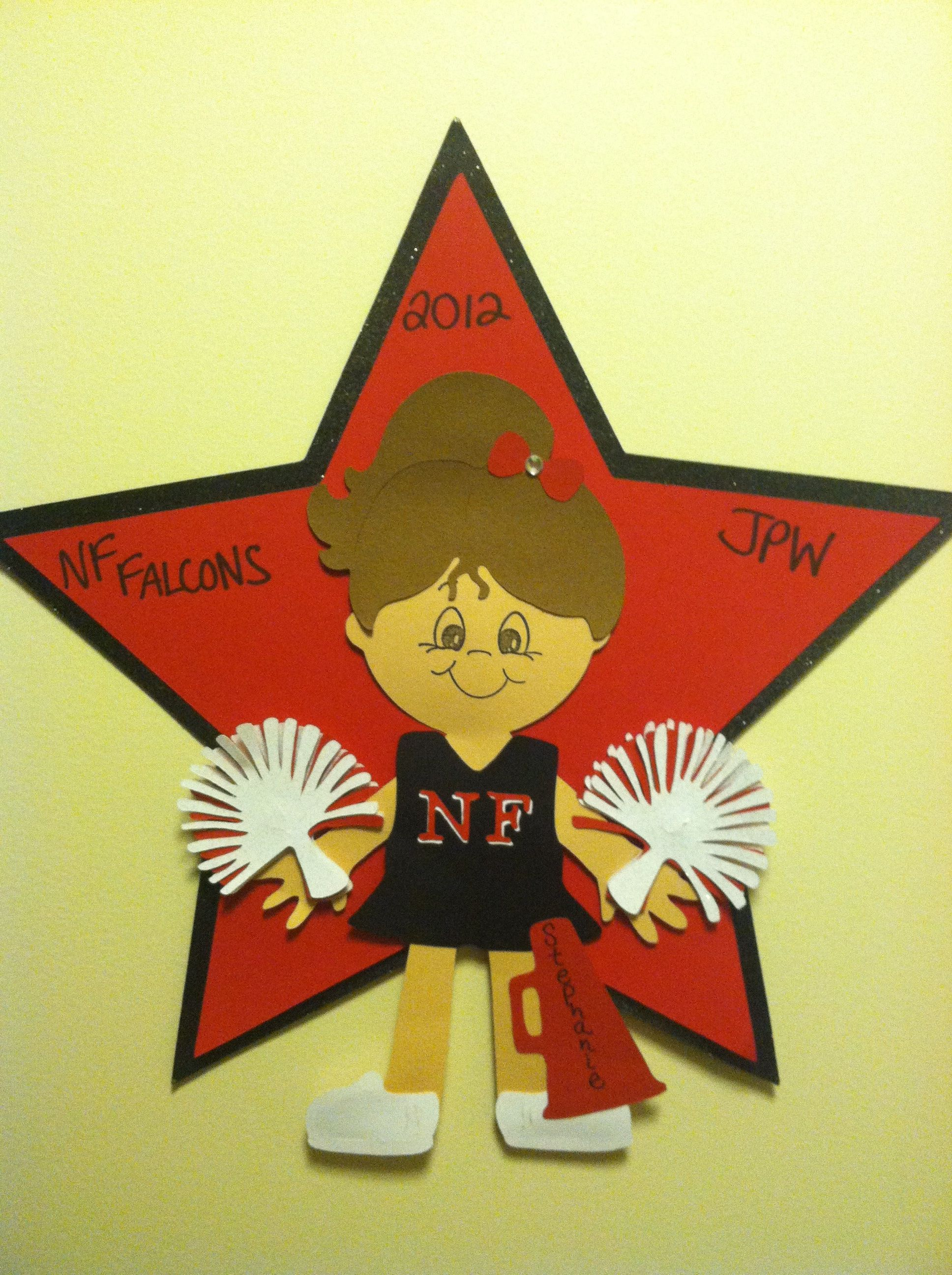 Cheer door decoration | CHEER | Pinterest | Cheer ...