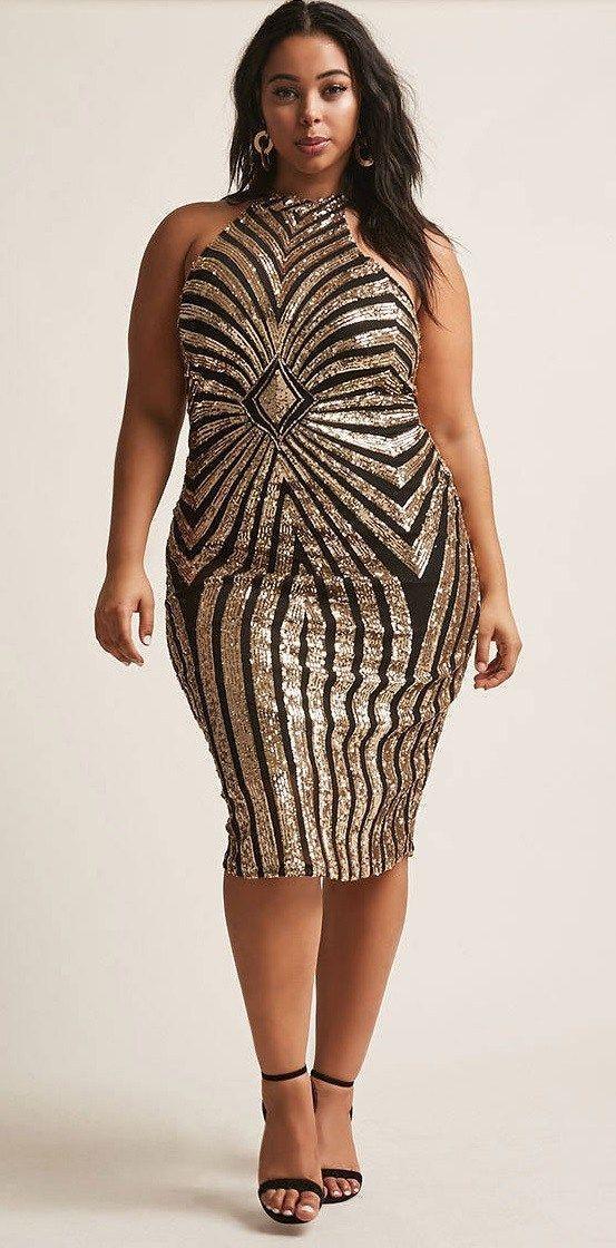 30 Plus Size Sequin Dresses   Plus Size Fashion   Pinterest   Curvy ...