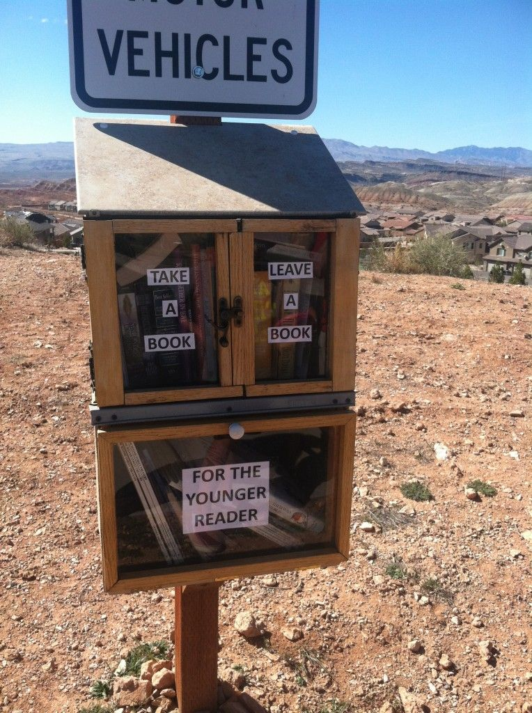 Take A Book/Leave A Book Little free libraries, Free library