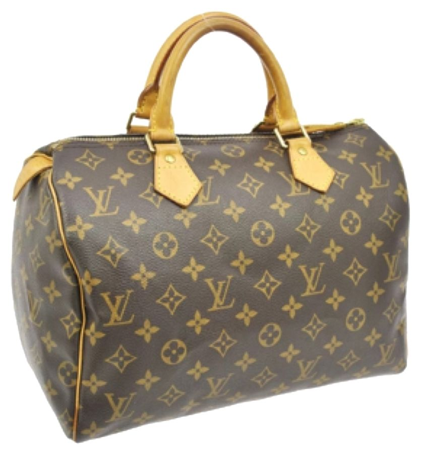 fee082c1c3a7 Louis Vuitton Speedy 30 Monogram Satchel. Save 46% on the Louis Vuitton  Speedy 30 Monogram Satchel! This satchel is a top 10 member favorite on  Tradesy.