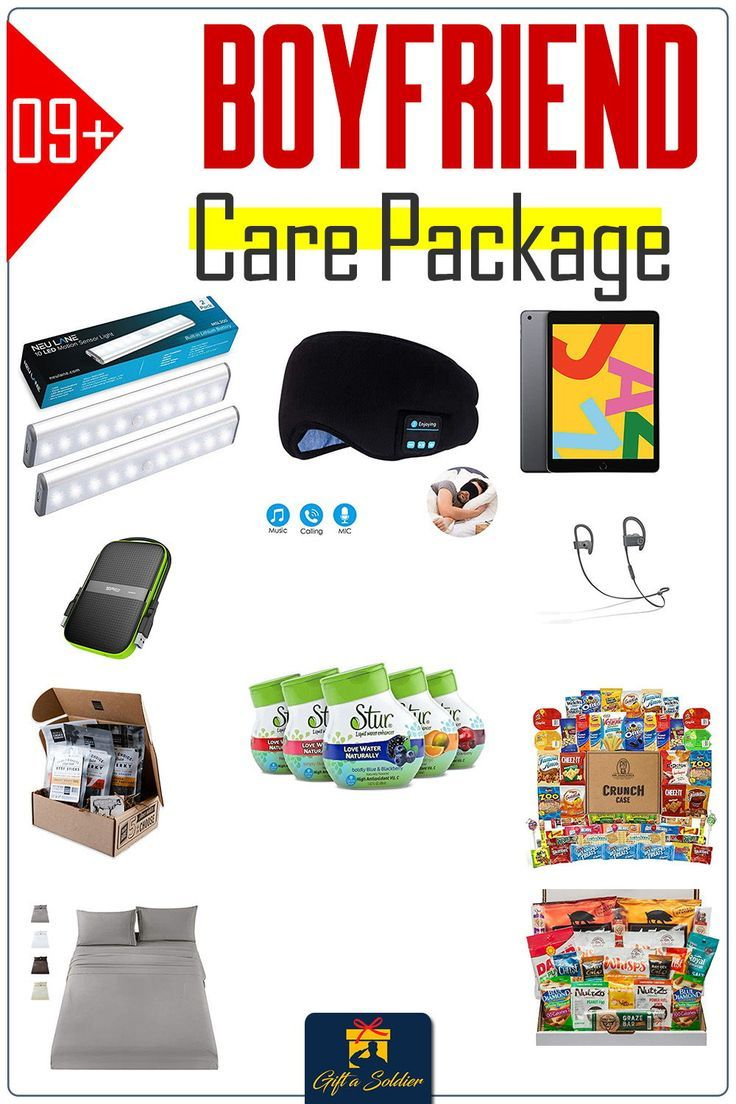 Care Package for Boyfriend in the Military Navy, Army