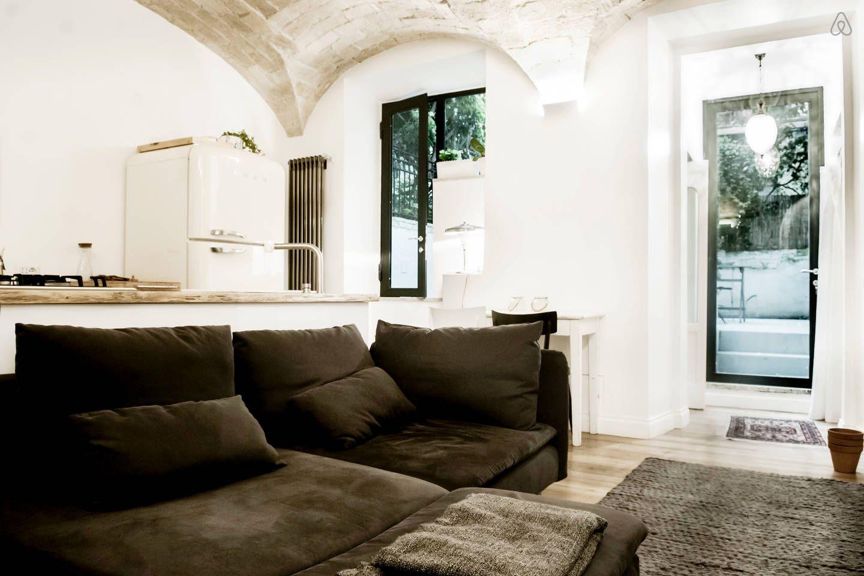 Living room with Roma Design appartamenti