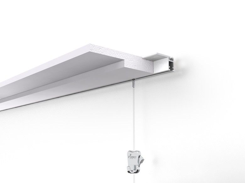 Stas Prorail Flat Ceiling Mounted Picture Rail Can Be