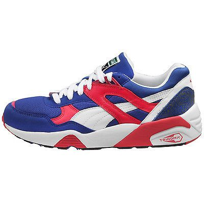 ... Puma Trinomic R698 Mens 357837-08 Blue Berry Red Athletic Running Shoes  Size 9.5 ... 83cb9fc03