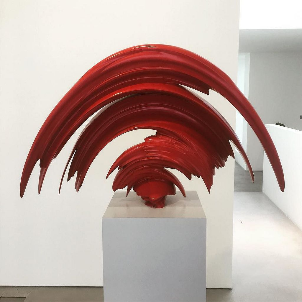 excellent work at tony cragg s lisson gallery show in london art  tenebris tony cragg one of the cragg sculptures that i have decided to take inspiration from there is so much movement in this piece and it reminds