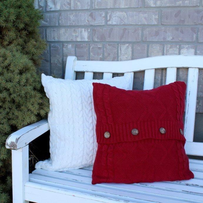 #Jane.com - #Crazy4Embroidery Comfy Sweater Pillow Covers - AdoreWe.com