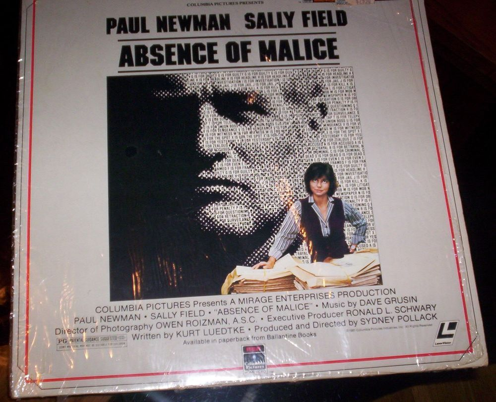 absence of malice Absence of malice is a 1981 film about unscrupulous prosecutors, reporters who are more interested in getting the story out than in getting the story right, and finally someone derailing a malicious persecution of an innocent person.