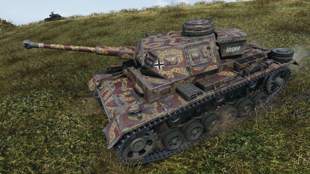 WoT PZ III K | Advent Calendar DAY 1 | tier 5 German premium medium