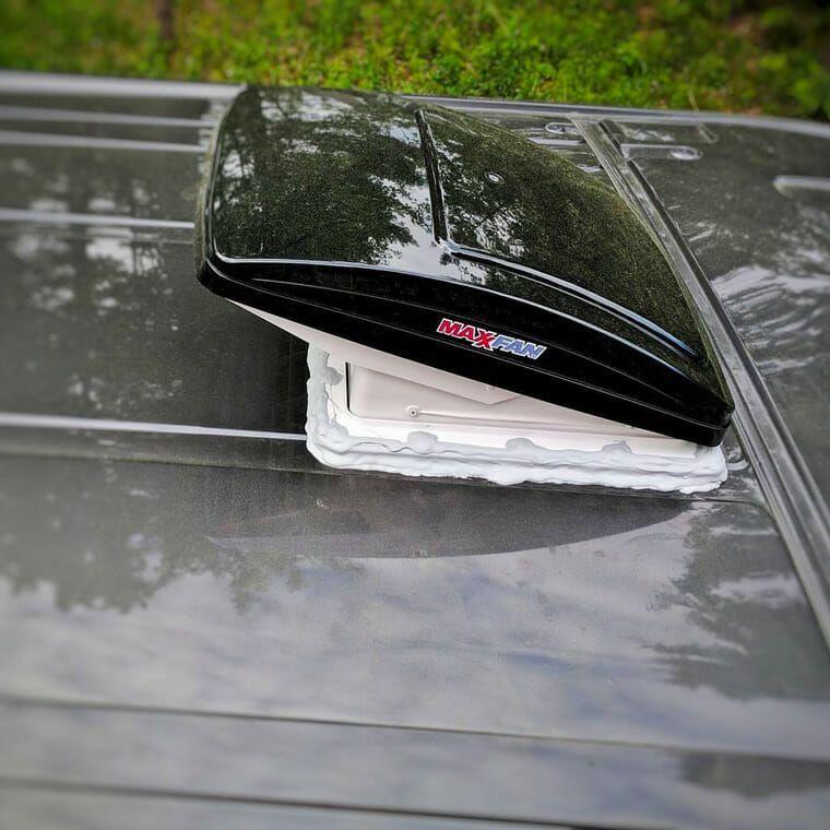 Best Roof Vent Fan For Vanlife Van Insulation Van Life Van