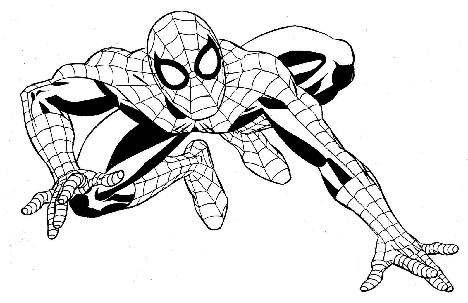 Resultado de imagen para super heroes para colorear | hombre araña ...