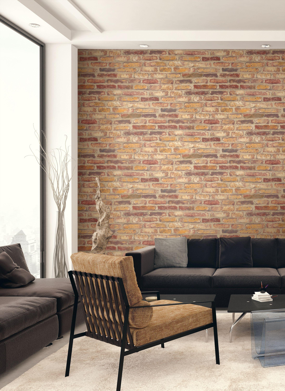 Peel and Stick Brick DIY Wallpaper Say Decor Brick