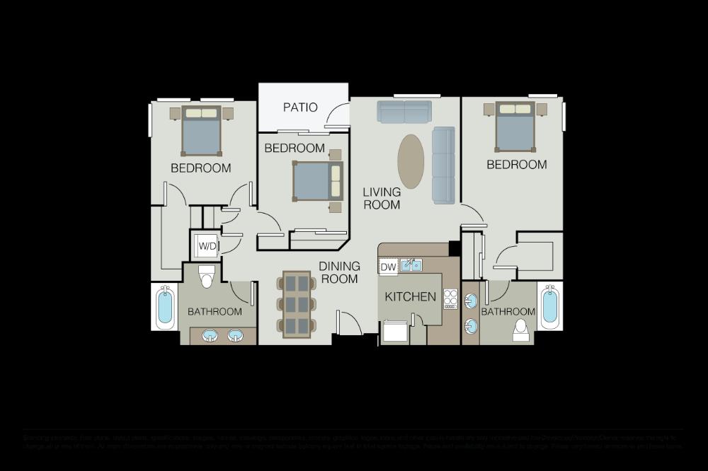 Floor Plans Pricing Apex Milpitas California Essex Floor Plans Bedroom Floor Plans Milpitas