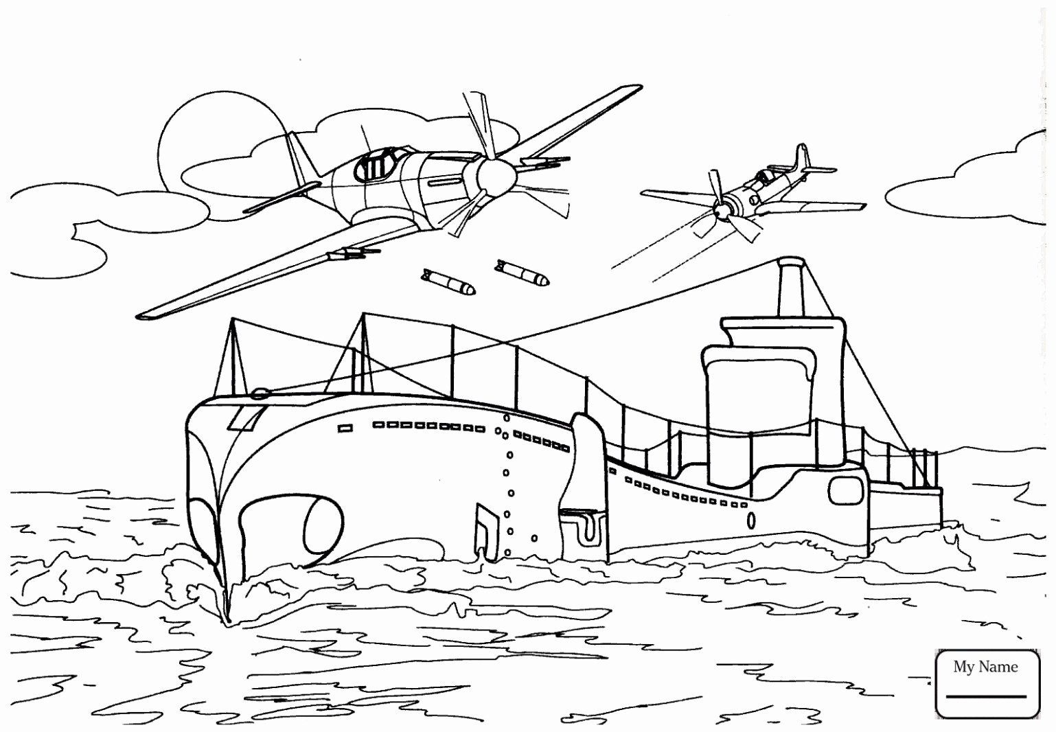 Coloring Pages Military Vehicles Best Of Ships Coloring
