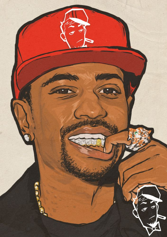 Image result for rapper color portraits | Drawings | Art ...