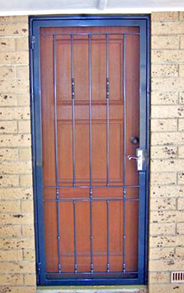 Iron Curtains - Topline Security Doors in Adelaide & Iron Curtains offer 16 standard security doors designs to choose ...