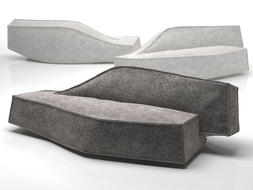 Filled With A Padding Material, The U0027airbergu0027 Sofa Appears As If It Has  Been Inflated With Air