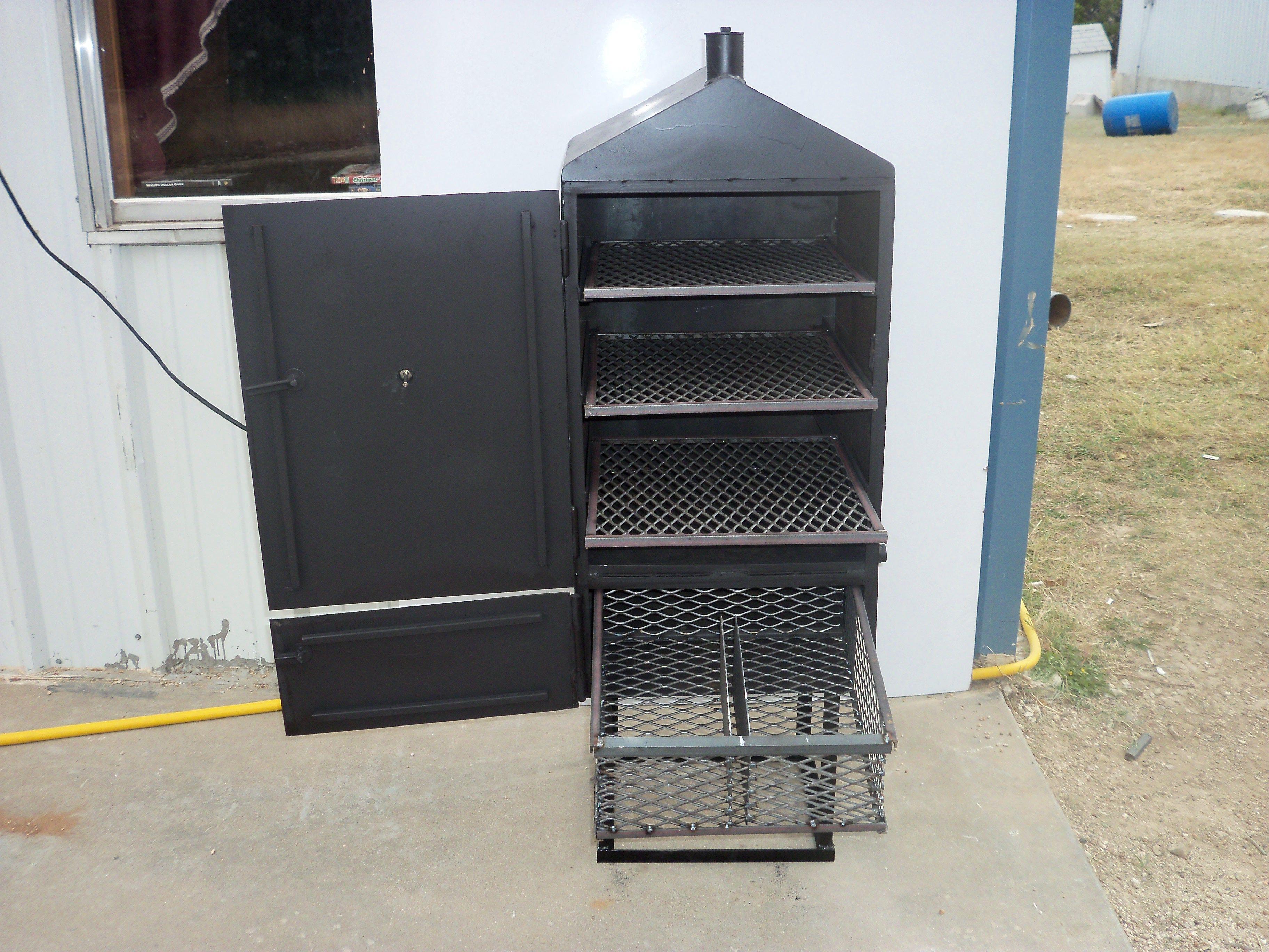 Custom BBQ Smokers | Vertical Custom BBQ Pit