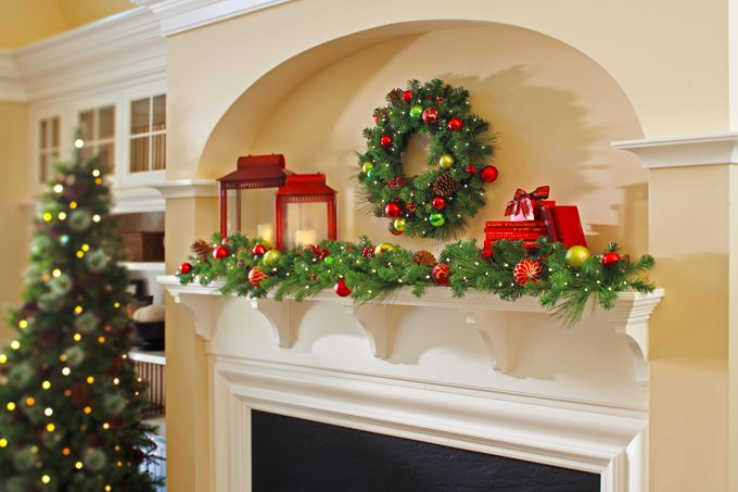 Creative Ideas To Decorate Your Mantel For Christmas Mantels - christmas decorations for mantels