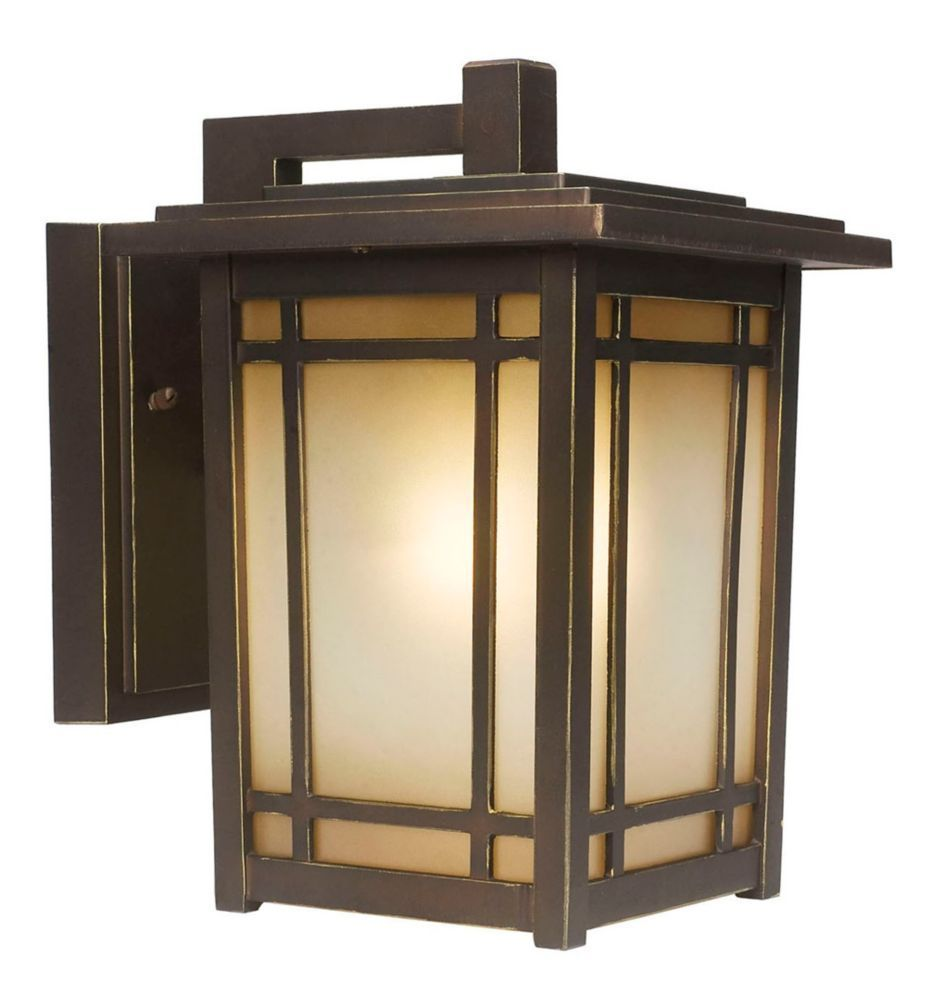 Port oxford light oil rubbed chestnut exterior wall lantern home