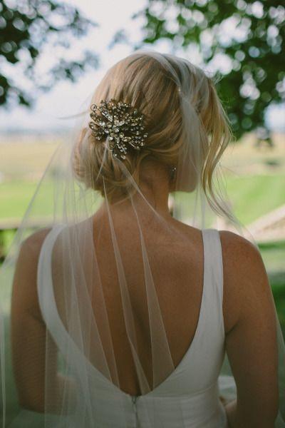 Beautiful wedding hair: http://www.stylemepretty.com/2013/12/02/bitterroot-valley-wedding-from-paige-jones-photography/ | Photography: Paige Jones - http://paigejones.co/