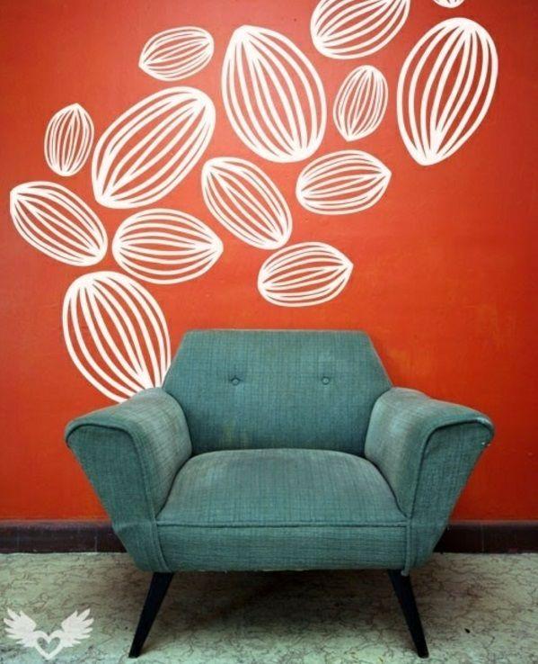 Wand Streichen Ideen Flur: 25 Wand Streichen Ideen - Seien Sie Verschieden!
