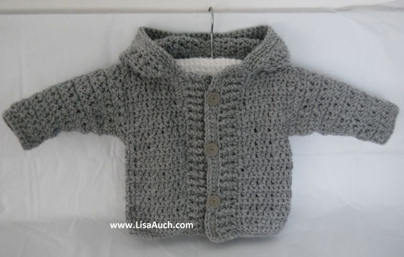 My Favourite Free Crochet Hooded Cardigan Patterns And Crochet