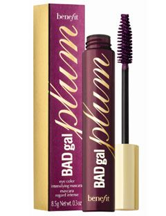 68bf7574de6 Benefit's BAD gal plum coloured mascara is great for my making your eyes  pop...best for night time.