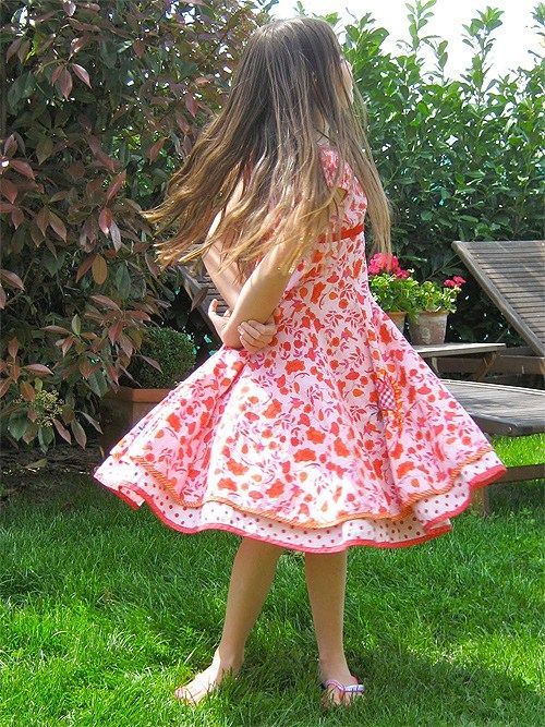 Schnittmuster: ELODIE   Schnittmuster kleid kind