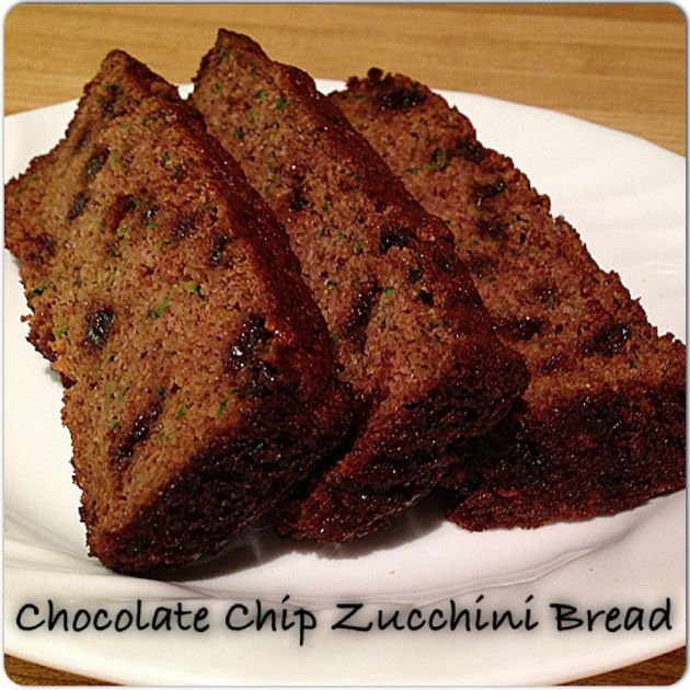 Zuchini Baking Recipes Bread Healthy