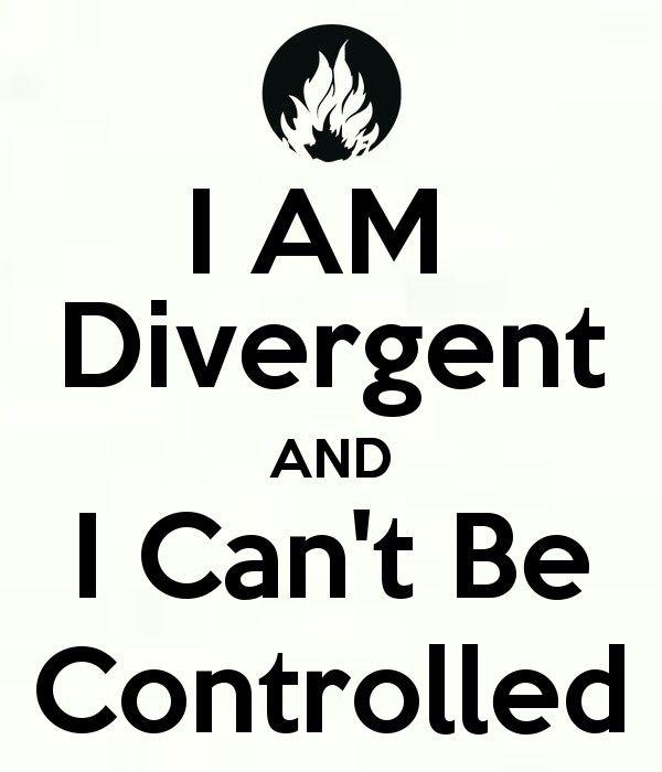 I am Divergent❤