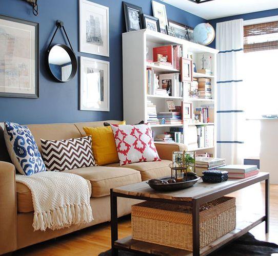 Wandfarbe und Styling Wohnzimmer Future Apartment Planning - wohnideen wohnzimmer farben