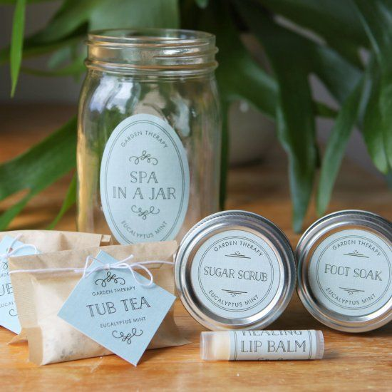 Pamper your friends and family with these handmade bath and body gift ideas all in one.
