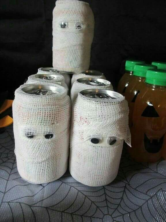 Latas bien frías 7 Halloween Pinterest Halloween parties - halloween ideas party