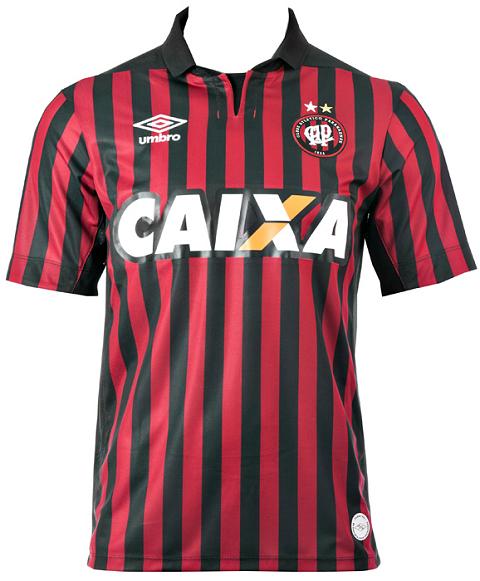 5d14781bb Atlético-PR lança suas camisas para a atual temporada