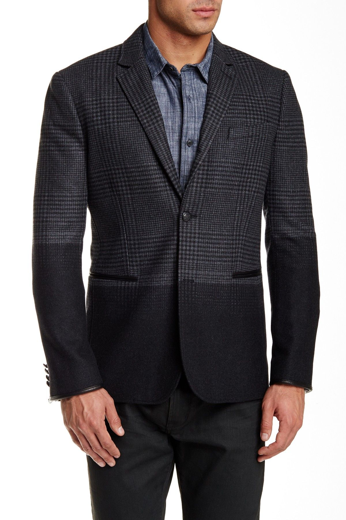 Colorblocked Sport Coat