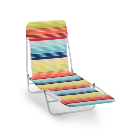 Mainstays Mainstays Folding Beach Lounger Beach Beach Chairs