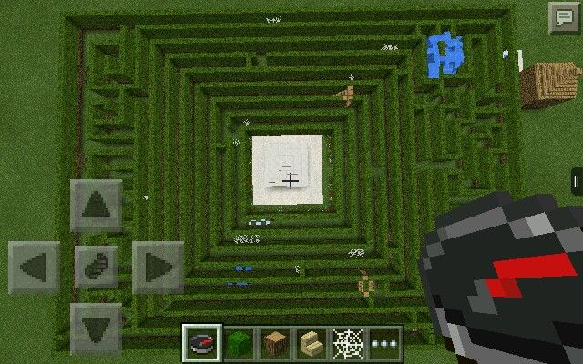 Taras Epic Maze Made On Minecraft It Took Me Ages The Entrance Is