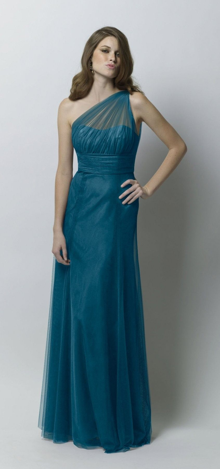 Possible bridesmaid dress Wtoo 239 in teal! | Wedding - it\'s on ...