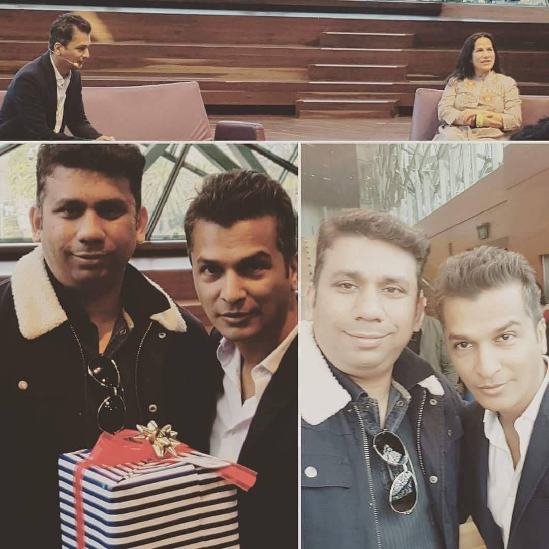 Meeting And Interacting With Well Known Fashion Designer From Bollywood Turned A Movie Director Vikramphadnis Are Somew Movie Director Craft Industry Make Art