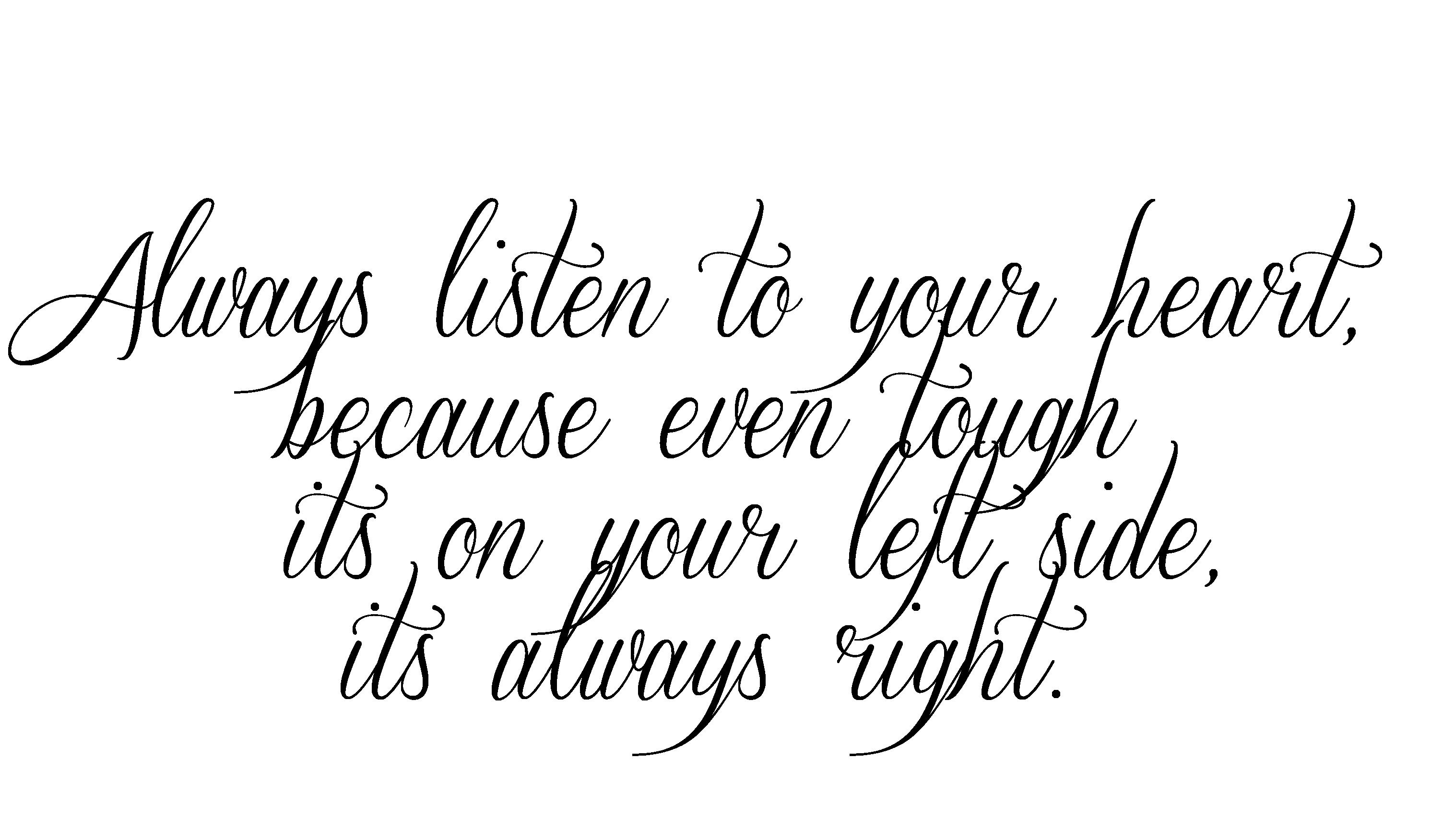 Tattoo Script Fonts Generator
