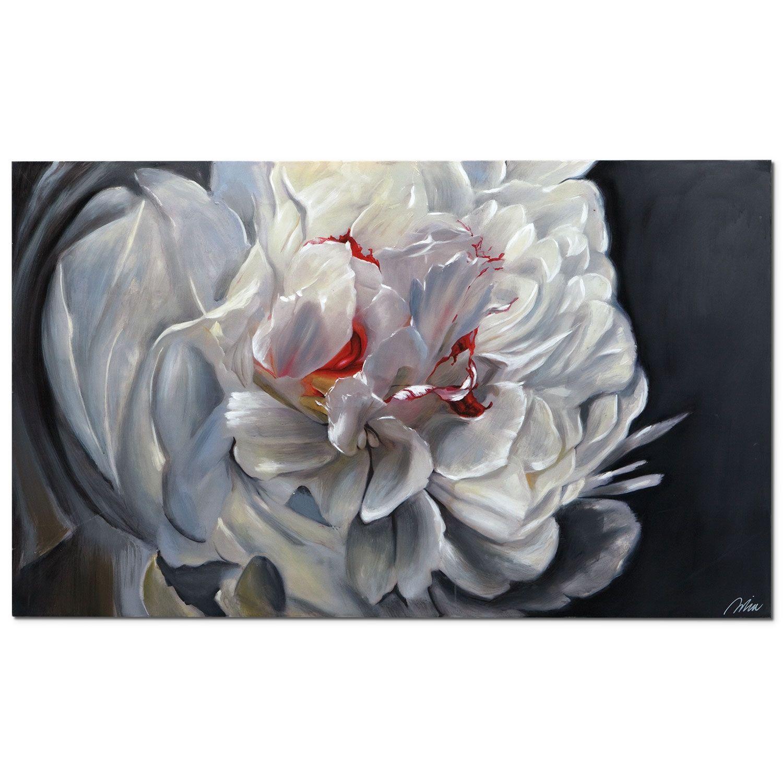 Floral elegance canvas print american signature furniture
