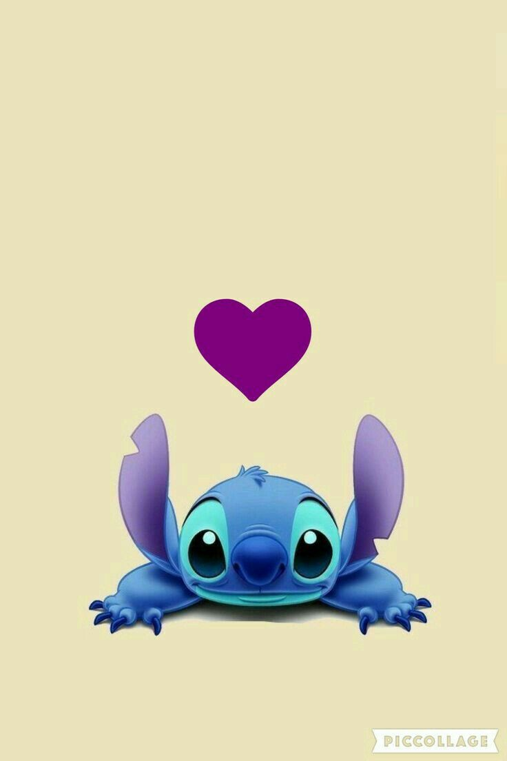 Tumblr iphone wallpaper stitch -  Valentine Stitch