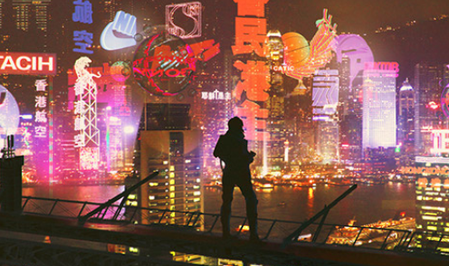 Pin by chen on 99 Ghost in the shell, Cyberpunk, Concept art