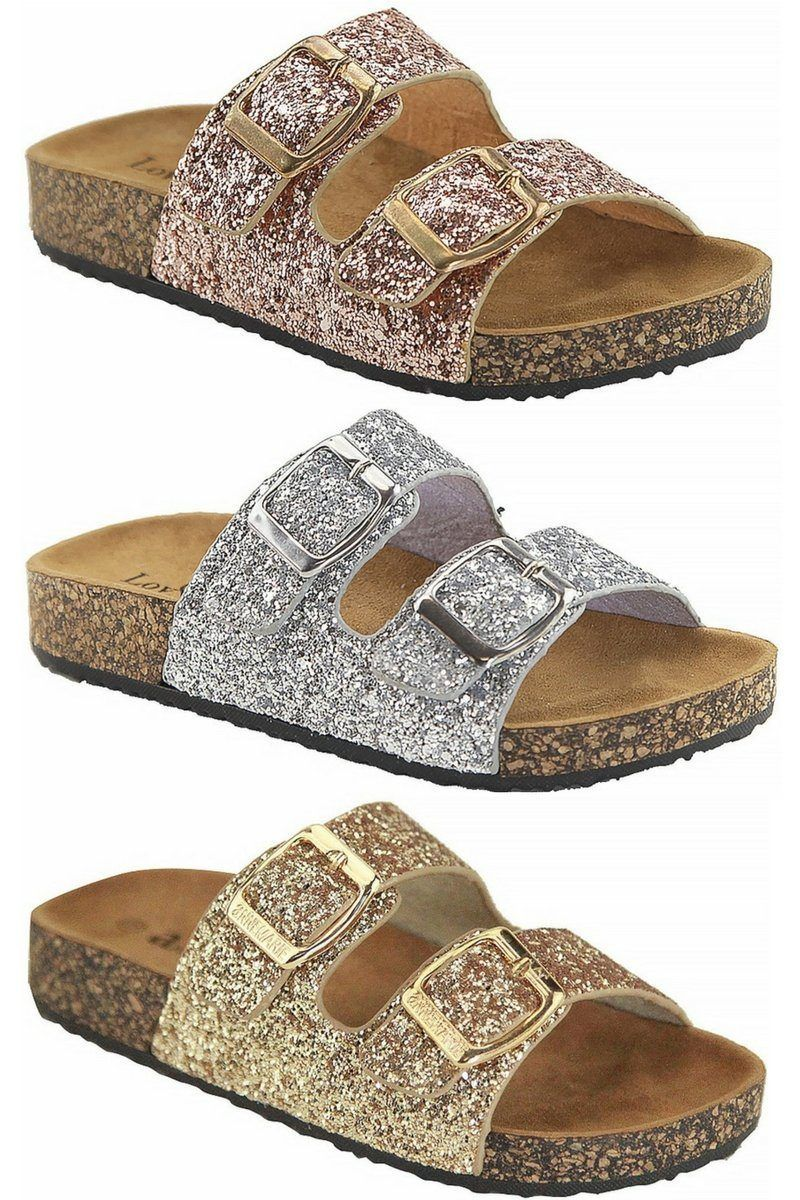 dbb3cce10 KIDS- The Birkley Glitter Sandals- RESTOCKED