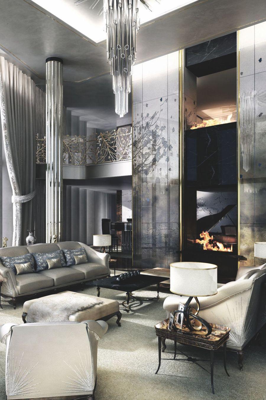 20 Living Room Ideas Modern Contemporary 2021   Glamorous living room, Luxury living room, Glam ...