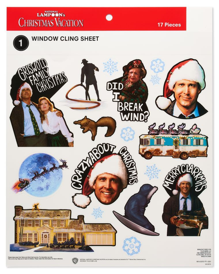 National Lampoon's Christmas Vacation™ Window Decorations
