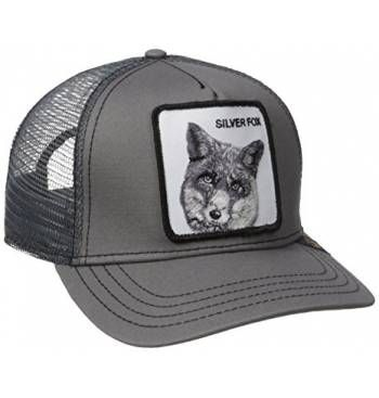 8d2c00c4 Animal Farm Trucker Snapback Hat Cap All Dark Grey/