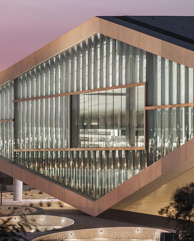 Book club inside OMAu0027s Qatar National