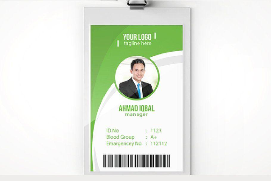 Employee Id Card Template Id Card Template