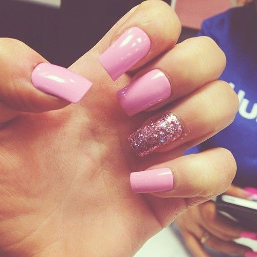 pretty nails | Nails | Pinterest | Pretty nails, Solid color nails ...
